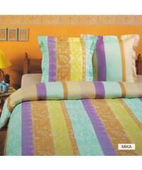 Home Linen Parure housse de couette en 100% coton - Mika 200x200 cm + 2 taies d'oreiller 65x65 cm