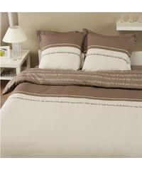 Home Linen Parure housse de couette en 100% coton - Feel Good 240x220 cm + 2 taies d'oreiller 65x65 cm