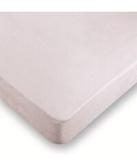 Belnou Protège-matelas imperméable polyuréthane 90 x 200 cm avec bonnet en tissu polyester / coton - blanc