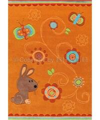 Arte Espina Tapis tuft Lapin orange 140x200 cm (Sam 4152.28)