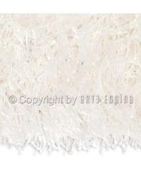 Arte Espina Tapis Shaggy Beat Blanc carré 200x200cm