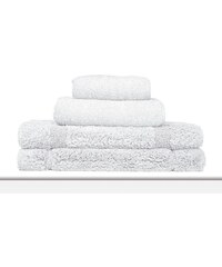 C du Linge 01 Blanc - Serviette de bain 100x150 cm