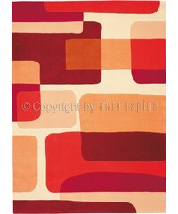 Arte Espina Tapis tuft Pop Art rouge 70x140 cm (Spirit 135.28)