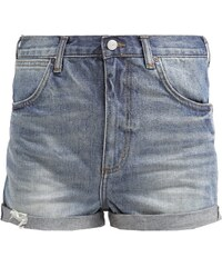 Topshop VINTAGE ROSA Jeans Shorts mid denim