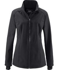 bpc bonprix collection Softshelljacke langarm in schwarz für Damen von bonprix