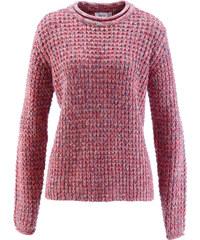 bpc bonprix collection Pullover langarm in pink (Rundhals) für Damen von bonprix