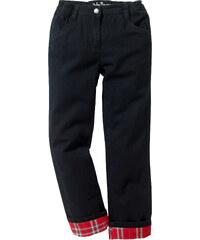 John Baner JEANSWEAR Pantalon thermo avec doublure flanelle chaude, T. 116-170 noir enfant - bonprix