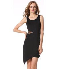 Dámské sexy společenské šaty s krajkou