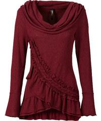 BODYFLIRT boutique Sweatshirt in rot für Damen von bonprix