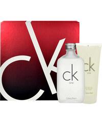 Calvin Klein CK One EDT dárková sada U - Edt 200ml + 200ml tělové mléko