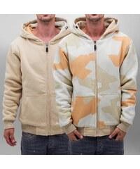Dangerous DNGRS Reversible Sweat Winter Jacket Beige/Camouflage