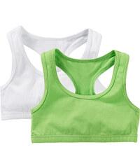 bpc bonprix collection Brassière (lot de 2) vert lingerie - bonprix