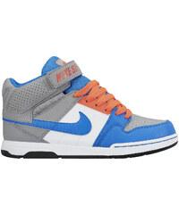 Nike Mogan MID 2 JR B Wolf Grey/pht Blue-ht lv-White