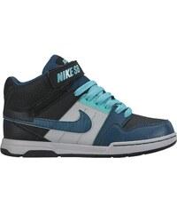 Nike MOGAN MID 2 JR BBlack/Teal-Lt Retro-Wolf Grey