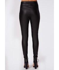 MISSGUIDED Černé kalhoty Veronika