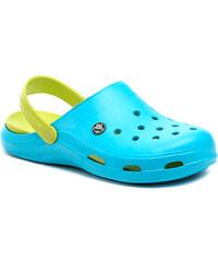 Dámská obuv Coqui B1102 bledě modré nazouváky