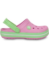 Crocs Crocband Kids Carnation/Green Glow