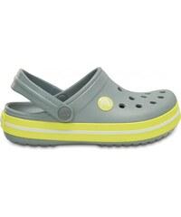 Crocs Corcs Crocband Kids Concrete/Chartreuse