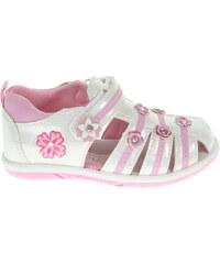 Rejnok Dovoz Dívčí sandály 105022 bílé