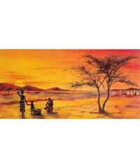 Home Affaire Bild Kunstdruck »F. Jones, African life II«, 100/50 cm