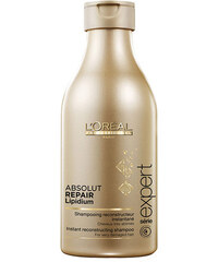 L´Oréal Paris Expert Absolut Repair Lipidium Shampoo 250ml Šampon na poškozené, barvené vlasy W Šampon pro velmi poškozené vlasy