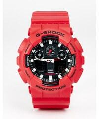 G-Shock - GA-100B-4AER - Montre analogique - Rouge