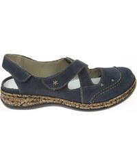 Rieker sandály dámské 46379-14 modré