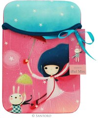 Santoro London - Pouzdro iPad mini - Kori Kumi - Under My Umbrella