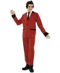 Kostým Rockabilly červený Velikost M/L 50-52