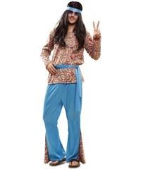 Kostým Psycho hippie Velikost M/L 50-52