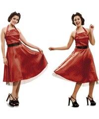Kostým Dívka z 50.let Velikost M/L 42-44