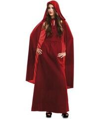 Kostým Červená kouzelnice Velikost M/L 42-44