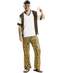 Kostým Happy hippie boy Velikost M/L 50-52