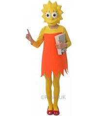 Dětský kostým Lisa Simpsonová Simpsonovi Pro věk (roků) 5-6
