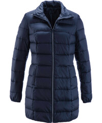 bpc bonprix collection Long-Steppjacke langarm in blau für Damen von bonprix
