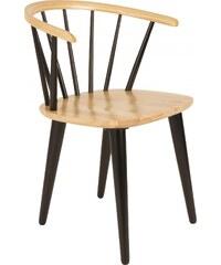 Zuiver / White Label Židle Gee, černá