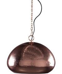 Zuiver Závěsná lampa Hammered oval copper