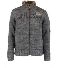 Pánská zimní bunda/svetr Nickelson Crest smoke melange M