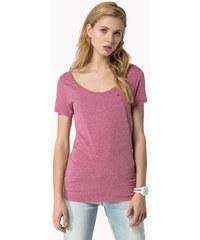Dámské tričko Tommy Hilfiger Leena sn knit fialová S