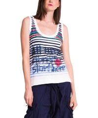 Dámské tričko Desigual Marino navy S