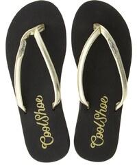 Cool Shoe - Žabky Gwen Cream - zlatý