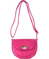 Rúžová crossbody kabelka Pinky 4022