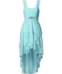 BODYFLIRT Maxi-Kleid in blau von bonprix