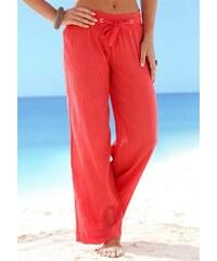 Damen Strandhose in Crash-Optik Beachtime rot 34,36,38,42,44