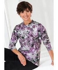 Damen Classic Basics Shirt mit schmeichelndem Stehkragen CLASSIC BASICS lila 38,40,42,44,46,48,50,52,54