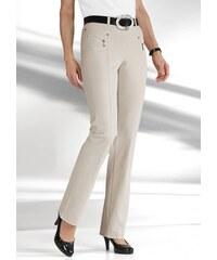 Damen Hose mit optisch streckenden Ziernähte STEHMANN grau 19,20,21,22,23,24,25