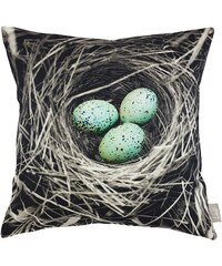 Kissenhüllen Linne Nest (1 Stck.) Baur natur 1 (45x45 cm)