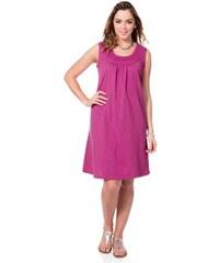 SHEEGO CASUAL Damen Casual Süßes Shirtkleid rosa 40,42,44,46,48,50,52,56