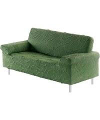 Sofahusse Carla mit Jaquard-Oberfläche Dohle & Menk grün