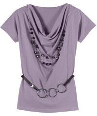CLASSIC INSPIRATIONEN Damen Classic Inspirationen Shirt mit eingesetzten Ärmel lila 36,38,40,42,44,46,48,50,52,54